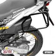 Spto028 Scam Afastador Alforge Honda Xre300 2010+