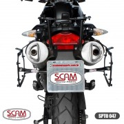 Spto047 Scam Suporte Baú Lateral Bmw G650gs 2009+