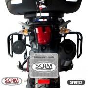 Spto132 Scam Afastador Alforge Triumph Tiger800 2012+