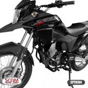 Spto194 Protetor Motor Honda Xre190 2016+ Scam