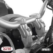 Spto273 Scam Riser Adaptador Guidao F800gs 2008+ Preto