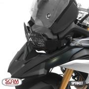 Spto427 Protetor Farol Aço Carbono Bmw F750gs 2018+ Scam