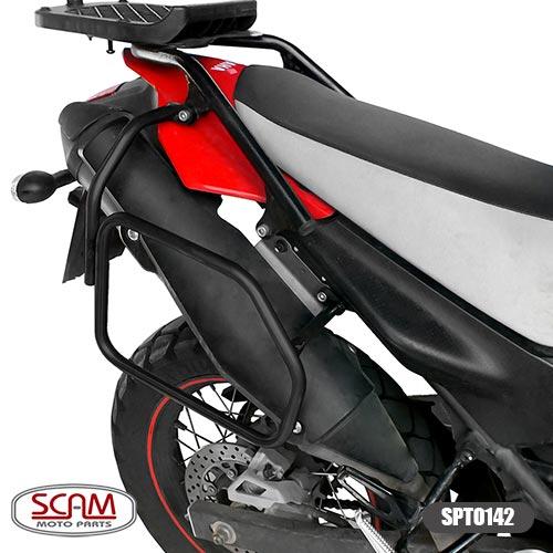 Afastador alforje  XT660R 2005+Yamaha Scam