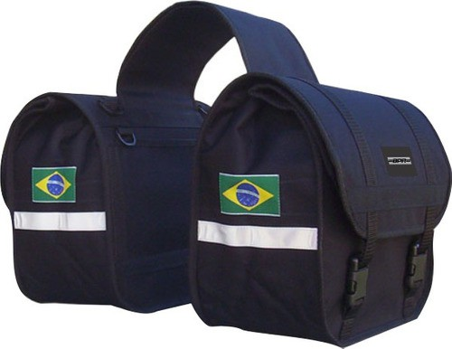 Alforge Lateral Moto Bpr Style Nylon Impermeavel 35 Lts