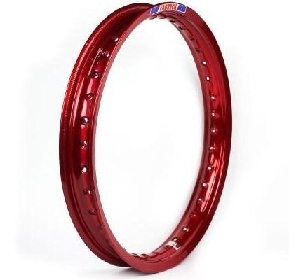 Aro Aluminio 160x18 Vermelho Vitral (cg / Rd / Ybr)