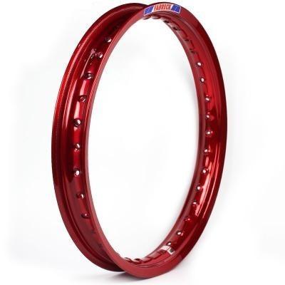Aro Aluminio 185x14 Vermelho Vitral (biz / Pop 100 Traseiro)