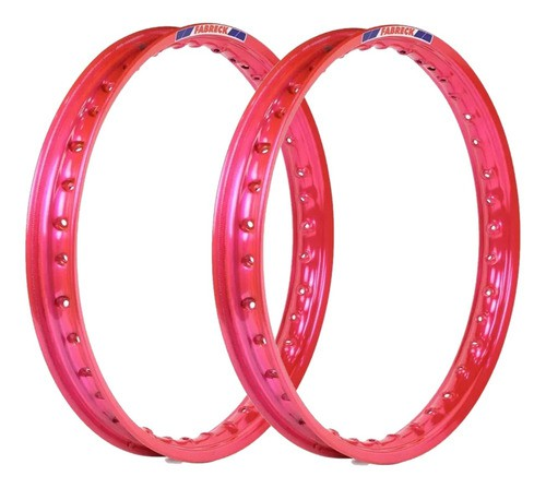 Aro Aluminio Rosa Cg 125 Titan/125 Fan + Guidao + Manete