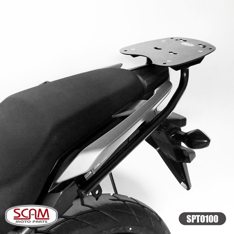 Bagageiro Scam Para Bauleto Traseiro Cb 500 X - Honda