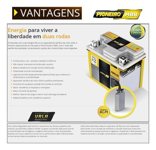Bateria Cg 125 Fan Es Partida Elétrica (mrb6-bs-6ah) Pi