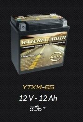 Bateria Route Quadriciclo Montez Traxx 250