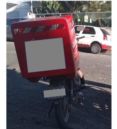 Bau Fibra Moto 245 Lts Pizza Lanche Marmitex Sem Divisorias