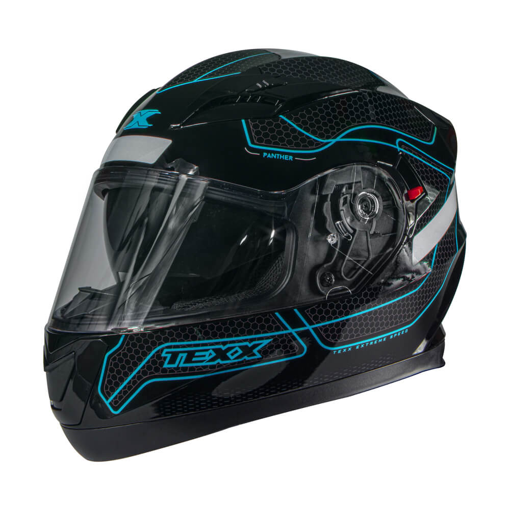 Capacete Texx G2 Panther Azul