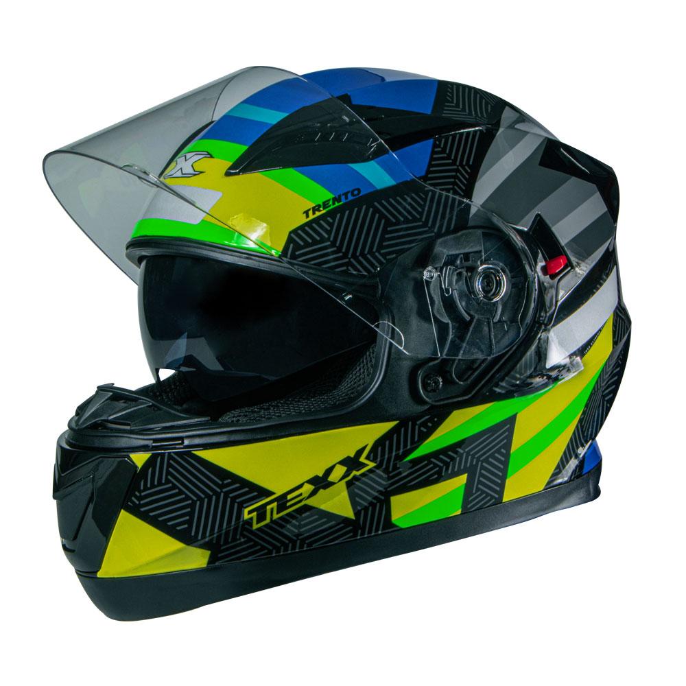 Capacete Texx G2 Trento Amarelo/verde