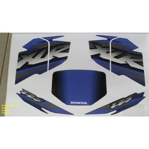 Faixa Xlr 125 Ks 02 - Moto Cor Azul (485 - Kit Adesivos)