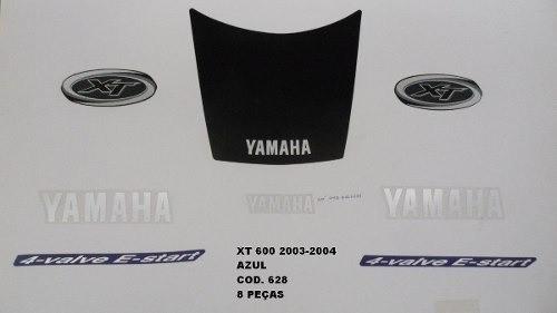 Faixa Xt 600 03/04 - Moto Cor Azul (628 - Kit Adesivos)