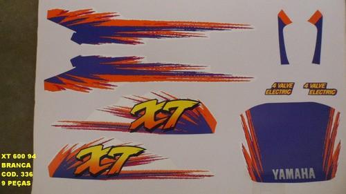 Faixa Xt 600 94/96 - Moto Cor Branca (336 - Kit Adesivos)