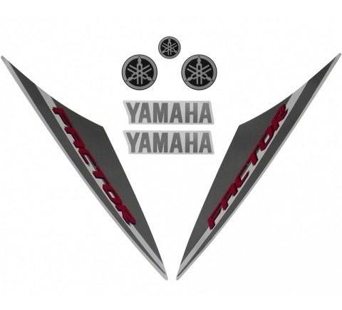 Faixa Ybr 125 Factor 14 - Moto Cor Branca - Kit 201