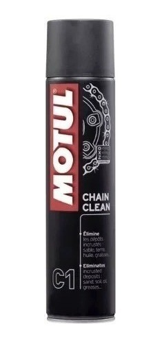 Graxa Spray Chain Lube C1 Limpador 400ml