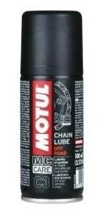 Graxa Spray Corrente De Moto Chain Lube C3 Off-road 100ml