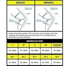 Joelheira Articulada Infantil Junior Cross Trilha Tam Jr1