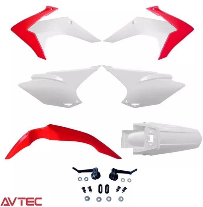 Kit Plastico Carenagem CRF 230 Mod. 2015-08 a 18 Escolha Cor