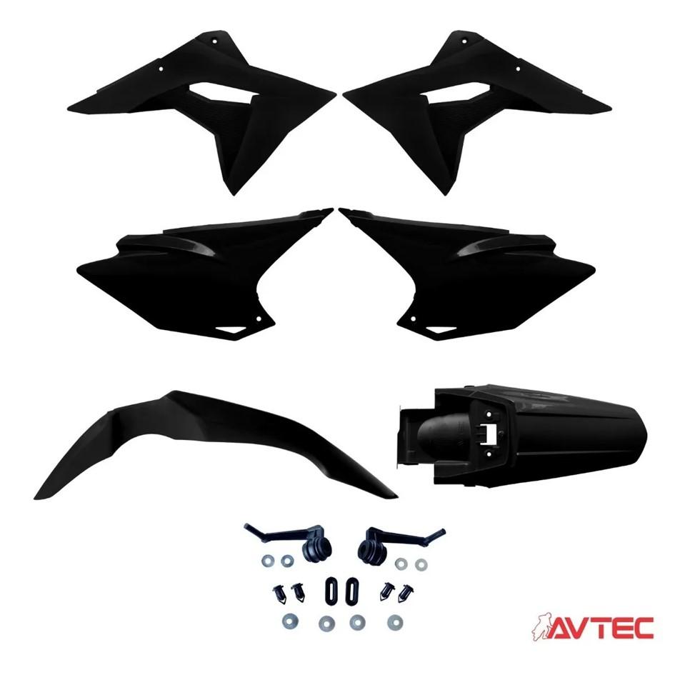 Kit Plastico Carenagem CRF 230 Mod. 2019 Pró - Escolha a Cor
