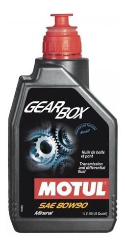Oleo De Cambio Transmissões Sae 80w90 Gear Box 1lt