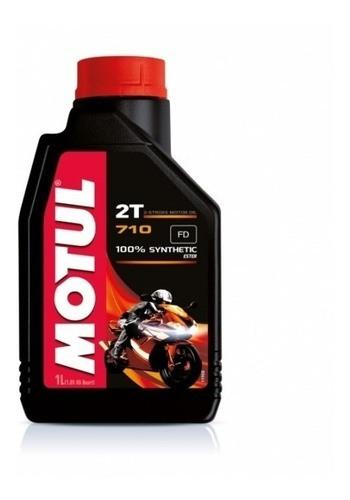 Oleo Para Motor De Moto 2 Tempos 710 Sintetico 1 Litro