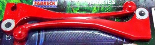 Par Aro Aluminio Cg 150 Titan / 150 Fan + Guidao +manetes Vm