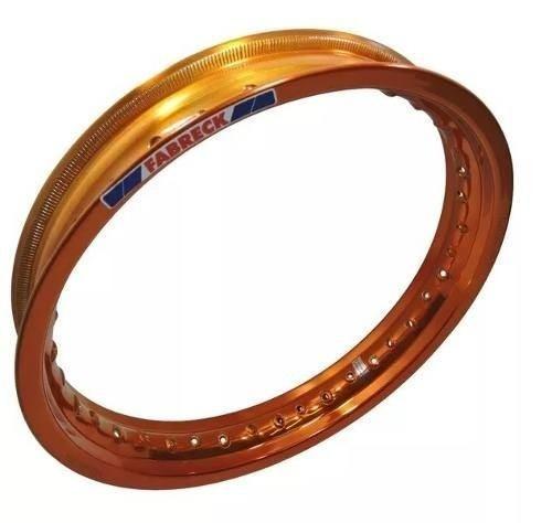 Par Aro Aluminio Nxr 125 Bros Cobre 19x185+17x215