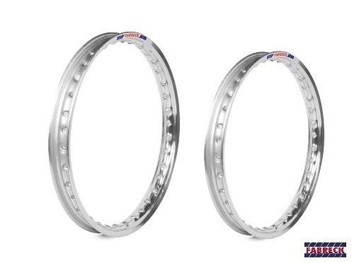 Par Aro Alumínio Vermelho Vitral Titan 150 Esd 18x160+18x185