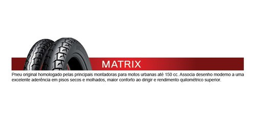 Par Pneus Honda Cg 125 Titan/fan 125 Matrix