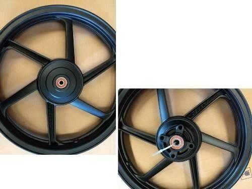 Par Rodas Liga Leve Modelo 6 Palitos Cg 125 Titan 99 Tambor