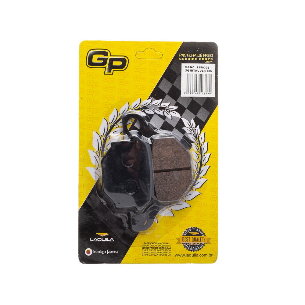 Pastilha De Freio (d) Gp Intruder 125