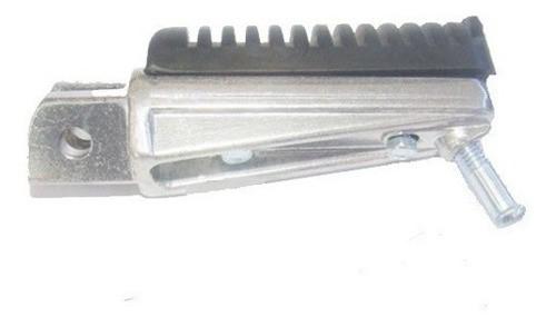 Pedaleira Fazer 250 Aluminio Polida Dianteira Direita