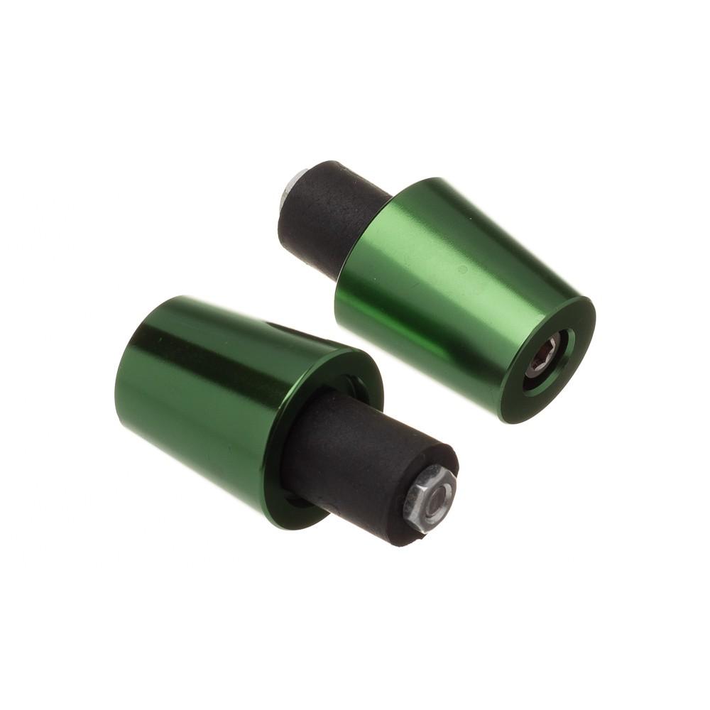 Peso De Guidao Bering Extense Em Aluminio Anodizado Verde