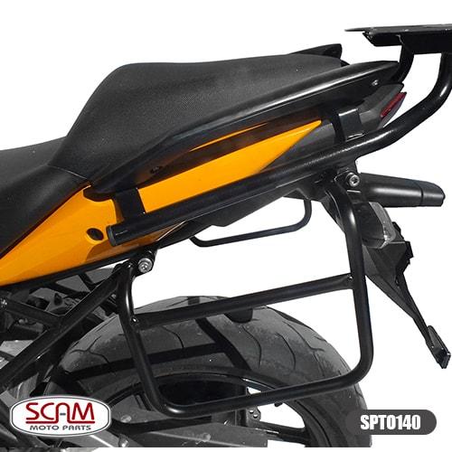 Riser Adaptador Guidao Versys650 2010-14 Cor Preto Spto140