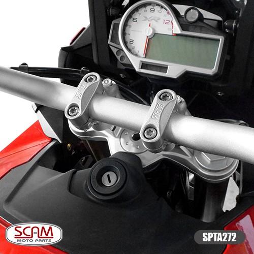 Scam Spta272 Riser Adaptador Guidao R1200gs 2013+ Prata
