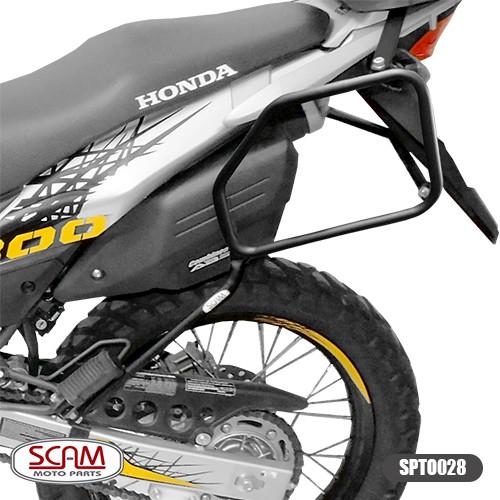 Scam Spto028 Afastador Alforge Honda Xre300 2010+