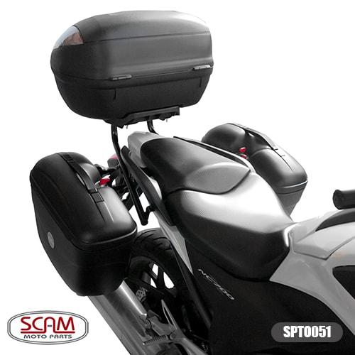 Scam Spto051 Suporte Baú Lateral Nc700x Nc750x 2013-2015