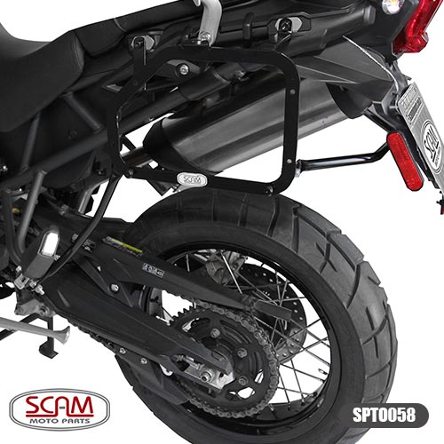 Scam Spto058 Suporte Baú Lateral Triumph Tiger800 2012+