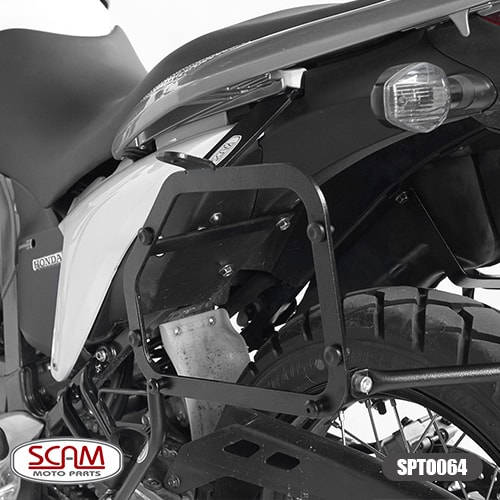 Scam Spto064 Suporte Baú Lateral Honda Transalp700 2011-2014