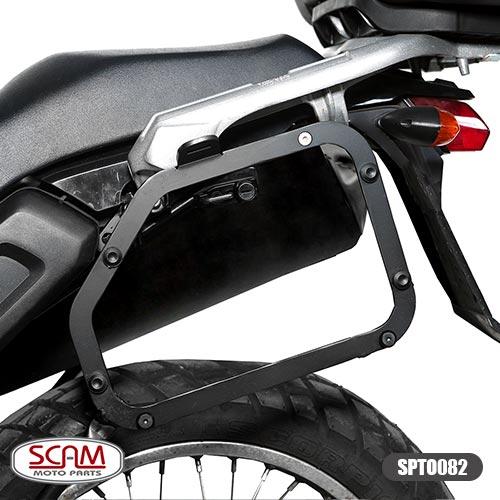 Scam Spto082 Suporte Baú Lateral Yamaha Tenere250 2011-2015