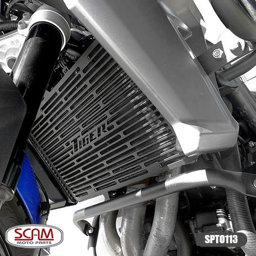 Scam Spto113 Protetor Radiador Triumph Tiger800 2012-2014