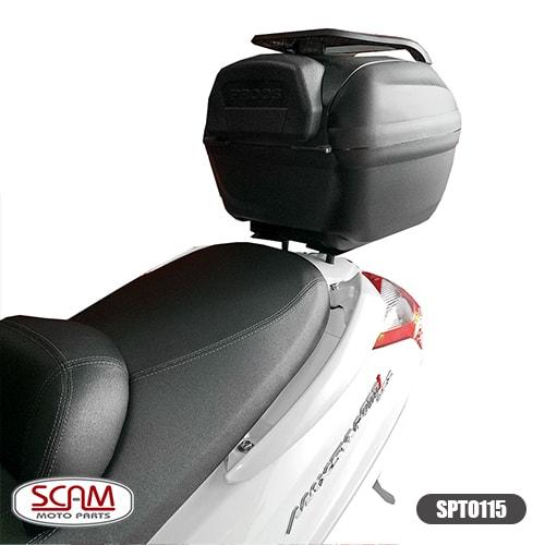 Scam Spto115 Suporte Baú Superior Dafra Maxsym400i 2015+