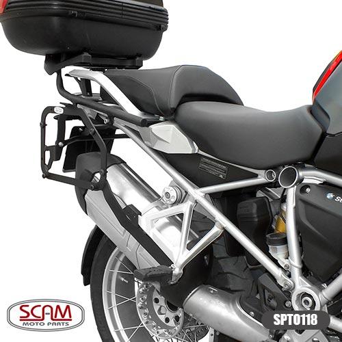 Scam Spto118 Suporte Baú Lateral Bmw R1200gs 2013+