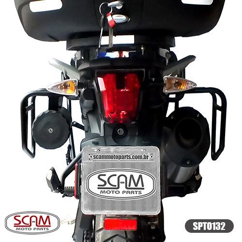 Scam Spto132 Afastador Alforge Triumph Tiger800 2012+