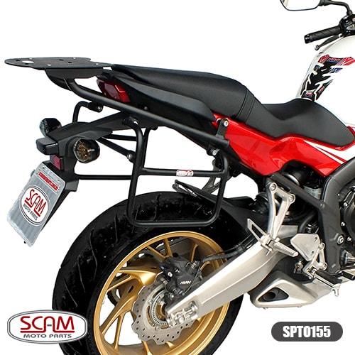 Scam Spto155 Afastador Alforge Honda Cb650f 2015+