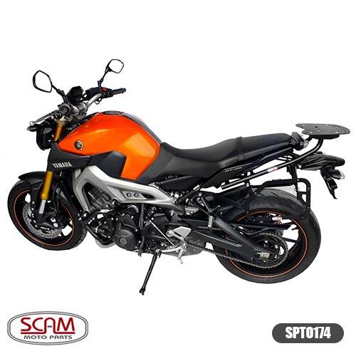 Scam Spto174 Suporte Baú Lateral Yamaha Mt09 2015+