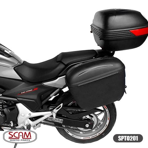 Scam Spto201 Suporte Baú Lateral Honda Nc750x 2016+